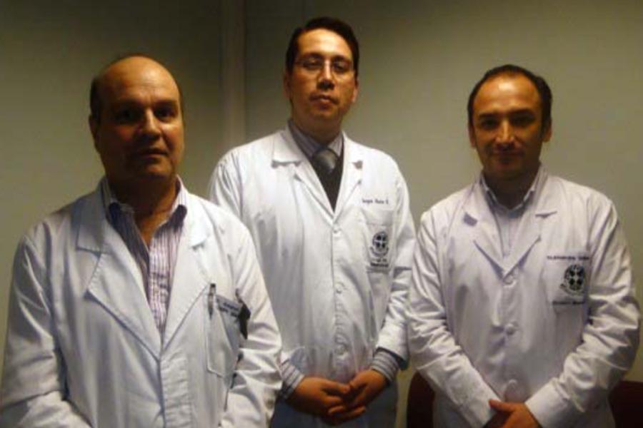 Equipo de cirujanos maxilofaciales de nuestro establecimiento realizan innovadora cirugía